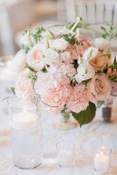 pink wedding flowers - photo by Jenn Kavanagh Photography http://ruffledblog.com/blush-pink-canadian-wedding