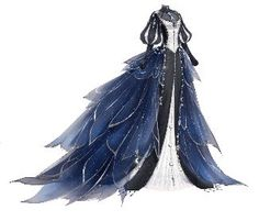 Evernight Monologue Evernight Monologue Love Nikki Dress UP Queen Wiki FA Dress Drawing, Drawing Clothes, Cute Dresses, Beautiful Dresses, Fantasy Gowns, Fantasy Outfits, Fantasy Clothes, Anime Dress, Dress Sketches