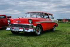 Chevy Nomad in Red!