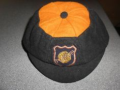 WOLVERHAMPTON WANDERERS ' WOLVES ' CAP ~ EARLY 1950's