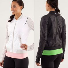 Want! Lululemon Two to Make it True Jacket ($138)  Best Fitness Products April 2013