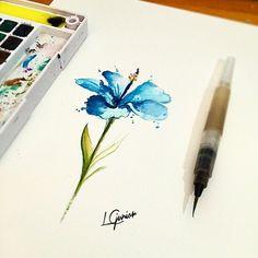 tattoo de flor hibisco - Pesquisa Google