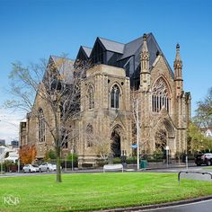 Amazing church conversion in East Melbourne.