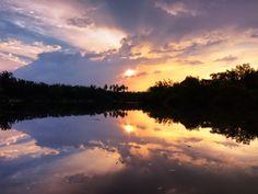 Beautiful river in Kuala Selangor