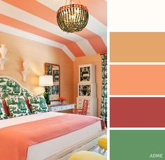 20 perfect color dkbination in bedroom interior - @fornomen