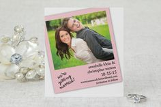 Snapshot in Time - Save the Date Card by MagnetStreet