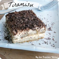 The most heavenly Tiramisu!  #dessert #chocolate #Italian #recipes #baking