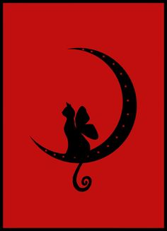 """Faery cat moon"" by thatdraftychick."