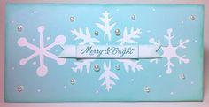 150 Christmas cards made using the Cricut