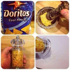 Paneermeel van Dorito's