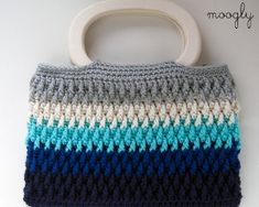 Deep Blue Sea Purse