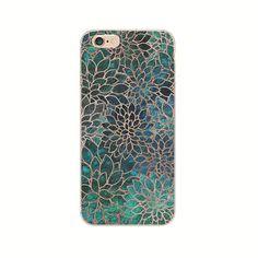 Shell For Apple iPhone 5 5S SE 5C 6 6S 7 Plus 6SPlus Back Case Cover Printing Mandala Flower Datura Floral Cell Phone Cases