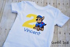 Paw Patrol Birthday Shirt by GrantedWishDesignCo on Etsy  https://www.etsy.com/listing/465994319/paw-patrol-birthday-shirt?ref=shop_home_active_1