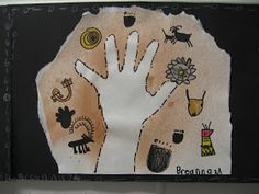 2nd Grade artists are studyingthe life and art of the Australian Aboriginees. We looked at the country of Australia, the historical Abori...