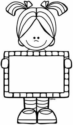 Slikovni rezultat za clipart firstgraders black and white School Clipart, Borders And Frames, Border Design, Digi Stamps, Colouring Pages, Pre School, School Kids, School Projects, Classroom Decor