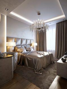 Modern Luxury Bedroom, Luxury Bedroom Design, Room Design Bedroom, Room Ideas Bedroom, Home Room Design, Luxurious Bedrooms, Home Interior Design, Bedroom Decor, Glam Bedroom