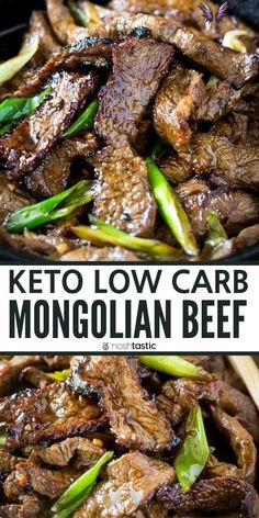 Keto Low Carb Mongolian Beef keto mongolian beef, easy low carb stir fry recipe, with sauce, healthy takeout copycat recipe. Ketogenic diet, paleo diet, whole 30 diet, gluten free diet.<br> Ketogenic Diet Meal Plan, Diet Meal Plans, Ketogenic Recipes, Meat Recipes, Paleo Recipes, Stir Fry Recipes, Paleo Food, Meal Prep, Healthy Food