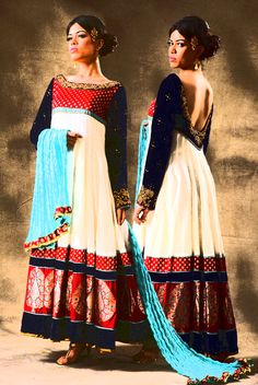 anarkali dress, salwar kameez, indian designerwear, pakistani suits, sangeet sandhya, marriage, reception, low back salwar kameez, backless, banarashi brocade, zardoshi embroidery, aari embroidery, beadwork, traditional indian customized designerwear. . . D S B T