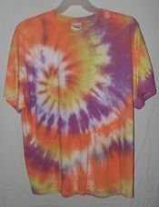 Merry Moonchild Tie-dyed T-shirts...I love em cause I make em!