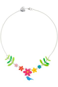 Mexican Embroidery Small Necklace - multicoloured - Spring/Summer 2012 - By collection - By product - Shop
