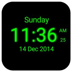 68 Best Android Apps About Digital clock images | Digital clocks, Android  apps, Clock