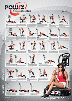 Beginners Vibration Training Exercise Programme, A Complete Training Programme For Novices To Vibration Training , 29 Exercises With Image And Detailed Movement Descriptions.