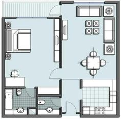 tiny house floor plans | One Room Floor Plan One Room Floor Plan For Small House – Home ...