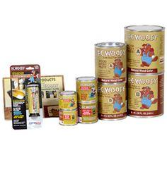 wood repair epoxy paste