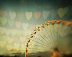 "Valentines Day Decor Ferris Wheel Carnival Photography, Valentine Print, Romantic Home Decor, Heart Print ""Love is in the Air"" by EyePoetryPhotography on Etsy https://www.etsy.com/listing/58105576/valentines-day-decor-ferris-wheel"
