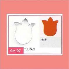Categoría: Cortantes Metalicos Galletas - Producto: Cortante Metal Tulipan - Ga7 - Envase: Unidad - Presentación: X Unid. - Marca: Flogus