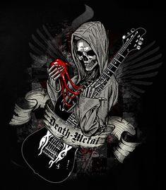 Heavy Metal Death Metal T-shirt 5XL Gothic Punk Rock N Roll   eBay http://pinterest.com/nfordzho/2013-fashion-t-shirts/