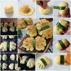 . . Roti Abon Ayam Pandan . Source resep dasar roti manis