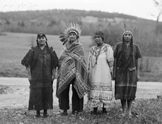 images of penobscot indians | Portrait of Penobscot Indian Girls