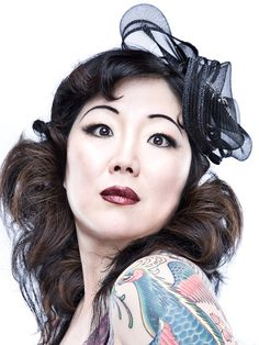 """""""To start telling people that you're beautiful, or just feel beautiful, just start acting like you are the most beautiful woman in the world. And it really improves everything! Because your sort of psyche responds to it – like this is truthful! Margaret Cho, Celebrities Then And Now, Female Dragon, Female Hero, Lesbian Love, Comedians, Role Models, Pretty Woman, Girl Power"""