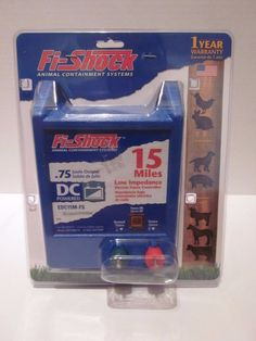 Fi-Shock Animal Containment System EDC15M-FS 15 Miles Electric Fence New…
