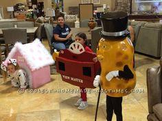 Cool Mr Peanut Halloween Costume... Coolest Halloween Costume Contest