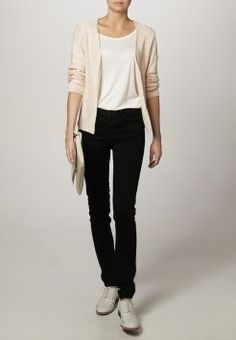 Zalando Essentials - Kardigan - beige/rose