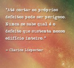 CLARICE LISPERCTOR