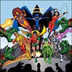 Teen Titans 80s Perez