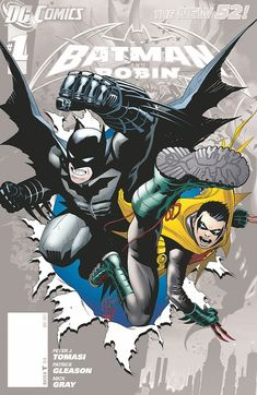 BATMAN AND ROBIN #0//Patrick Gleason/G/ Comic Art Community GALLERY OF COMIC ART