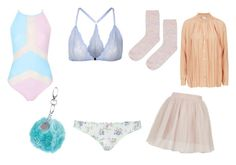 """""""Perfect Pastels"""" by rachaelwalton on Polyvore featuring Topshop and Rare London"""