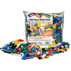 Aubaines En Ligne: Big Bag Of Bricks 1000 Pièces Compatibles Avec Les Blocs LEGO
