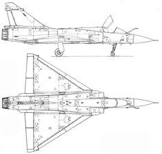 Mirage 2000C Blueprint image