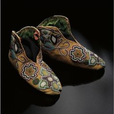 Bead Shoes, c.1830