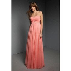 Silhouette: A-Line Neck: Sweetheart Sleeve Length: Sleeveless Train: Sweep Train Hemline: Floor Length Fabric: Chiffon Color: See Picture/Custom Net Weight: Formal Gowns, Formal Wear, Strapless Dress Formal, Wedding Party Dresses, Bridesmaid Dresses, Bride Dresses, Ball Dresses, Chiffon Dress, Evening Gowns
