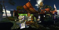 Fantasy Faire 2011 - Fantastical and Aquarium, Fantasy, Explore, Landscape, Painting, Art, Goldfish Bowl, Art Background, Aquarius