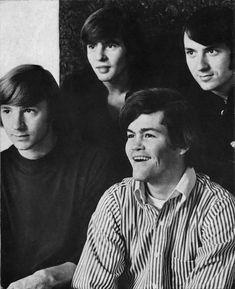 Davy Jones, Michael Nesmith, Peter Tork, & Micky Dolenz. (The Monkees) My beautiful boys! <3