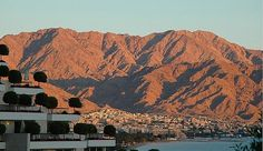 Adom (red) mountains in Eilat...turn purple at sunset...one of my fav places in Israel