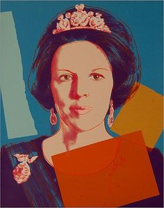 Andy Warhol - Reigning Queens: Queen Beatrix of the Netherlands, 1985