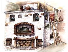 Japanese Interior Design, Stove Fireplace, Rocket Stoves, Summer Kitchen, Dream Decor, Log Homes, Planer, Cottage, Architecture